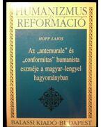 Az antemurale és conformitas humanista eszméje a magyar-lengyel hagyományban - Hopp Lajos