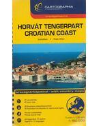 Horvát tengerpart autóatlasz 1:160 000