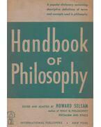 Handbook Of Philosophy - Howard Selsam