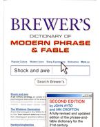 Brewer's Dictionary of Modern Phrase & Fable - AYTO, JOHN – CROFTON, IAN