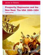 Prosperity, Depression and the New Deal: The USA 1890-1954 - CLEMENTS, PETER