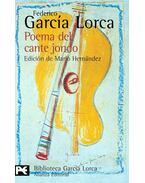 Poema del cante jondo - Federico Garcia Lorca