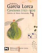 Canciones (1921-1924) - Federico Garcia Lorca