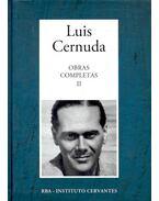 Obras Completas #2 - CERNUDA, LUIS
