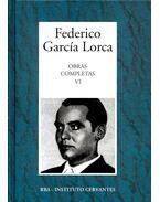 Obras Completas #6 - Federico Garcia Lorca