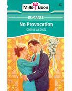 No Provocation - Weston, Sophie