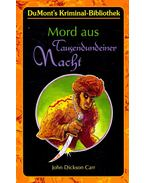 Mord aus Tausendundeiner Nacht (Titel des Originals: The Arabian Nights Murder) - John Dickson Carr