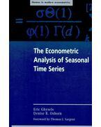 The Econometric Analysis of Seasonal Time Series - GHYSELS, ERIC – OSBORN, DENISE R.
