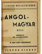 Angol-Magyar Kéziszótár - Dr. Latzkó Hugó