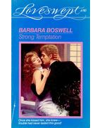 Strong Temptation - Boswell, Barbara