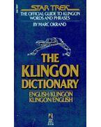 The Klingon Dictionary - OKRAND, MARC