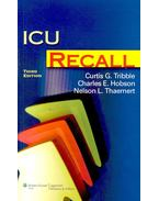 ICU Recall - TRIBBLE, CURTIS G.