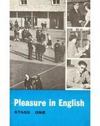 Pleasure in English – Stage One - YGLESIAS, J. R. C. - HUGHES, FIELDEN G.