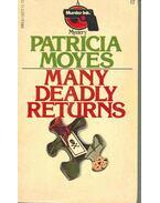 Many Deadly Returns - Moyes, Patricia