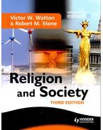 Religion and Society - WATTON, VICTOR W. - STONE, ROBERT M.