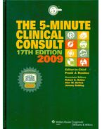 The 5-Minute Clinical Consult 2009 - DOMINO, FRANK J.