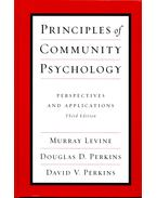 Principles of Community Psychology - Perspecitves and Applications - LEVINE, MURRAY - PERKINS, DOUGLAS D, - PERKINS, DAVID V,