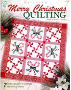 Merry Christmas Quilting - CLAYTON, BARBARA