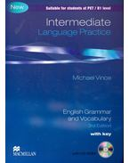 Language Practice - Intermediate - English Grammar and Vocabulary - 3rd Edition with key + CD - Michael Vince