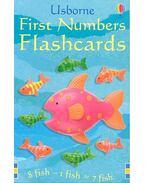 First Number Flashcards - LITCHFIELD, J. - BROOKS, F.