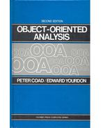 Object-Oriented Analysis - 2nd Edition - COAD, PETER - YOURDON, EDWARD