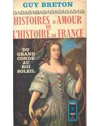 Histoires d'Amour de L'Histoire de France - Tome 4 - Du grand condé au Roi Soleil - Breton, Guy