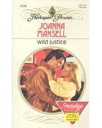 Wild Justice - MANSEL, JOANNA