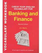 Check Your English Vocabulary for Banking & Finance - 2nd Edition - MARKS, JON