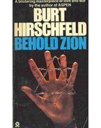 Behold Zion - Hirschfeld, Burt