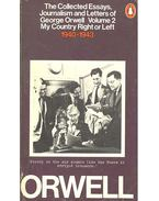 The Collected Essays, Journalism and Letters - Volume 2 - George Orwell