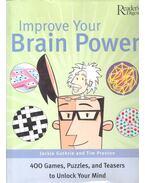 Improve Your Brain Power - GUTHRIE, JACKIE - PRESTON, TIM