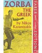 Zorba the Greek - KAZANTZAKIS,
