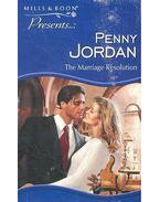 The Marriage Resolution - Jordan, Penny