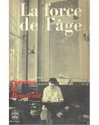 La force de l'âge - Beauvoir, Simone de