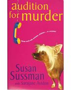 Audition for Murder - SUSSMAN, SUSAN, AVIDON, SARAJANE