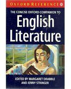 The Concise Oxford Companion to English Literature - DRABBLE, MARGARET - STRINGER, JENNY