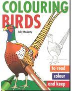 Colouring Birds - MCLARTY, SALLY