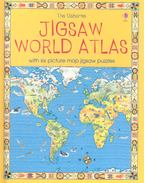 The Usborne Jigsaw World Atlas - Colin King