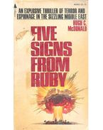 Five Signs from Ruby - McDONALD, HUGH C.