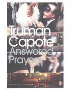 Answered Prayers - Truman Capote