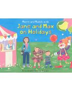 Jane and May on Holidays - BROWN, JO