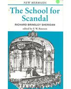 The School for Scandal - SHERIDAN, RICHARD BRINSLEY