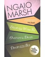Death in a White Tie, Overture to Death, Death at the Bar, The Figure Quoted - Marsh, Ngaio