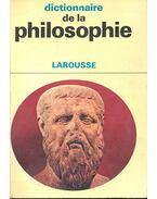 Dictionnaire de la philosophie - Didier,Julia