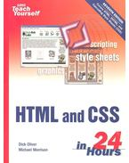 HTML and CSS in 24 Hours - OLIVE, DICK - MORRISON, MICHAEL