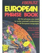 European Phrase Book - BERLITZ