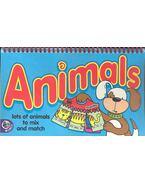 Animals - Fliipcards 2-6 years - CLEMPER, JANE
