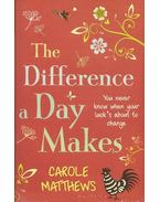 The Difference a Day Makes - Carole Matthews