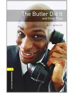 The Butler Did It and Other Plays - Stage 1 - BOWLER, BILL