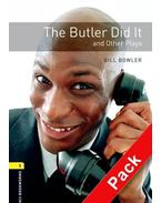 The Butler Did It and Other Plays Audio CD Pack - Stage 1 - BOWLER, BILL